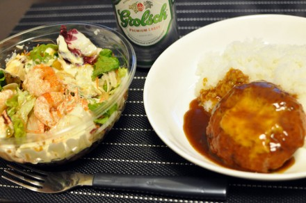 夕飯 スタバ太郎